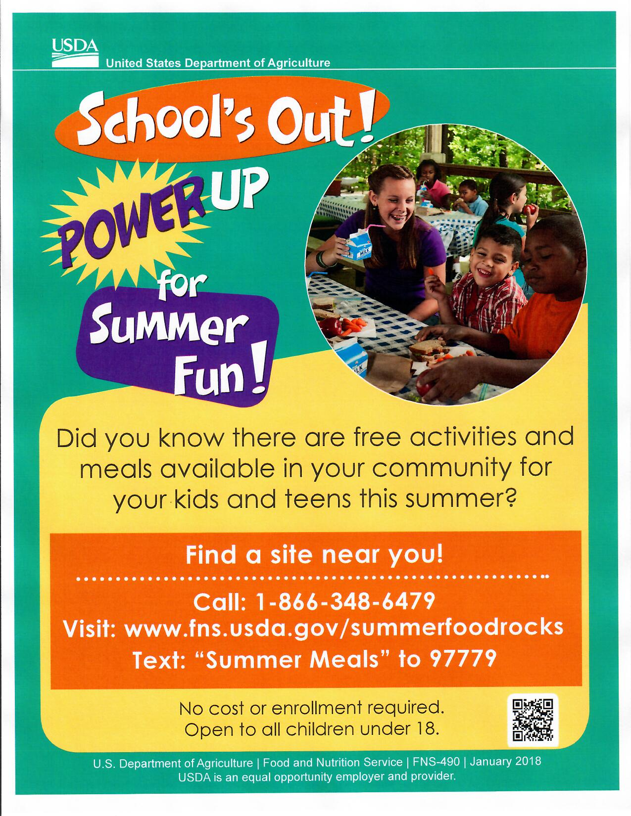 School's Out! POWER UP for Summer Fun!